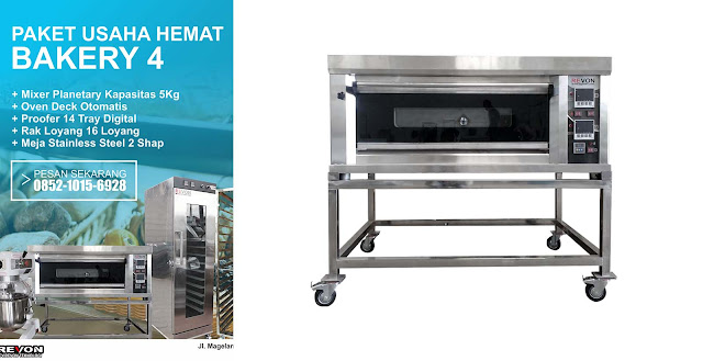 Paket Perlengkapan Usaha Roti Manis Profesional