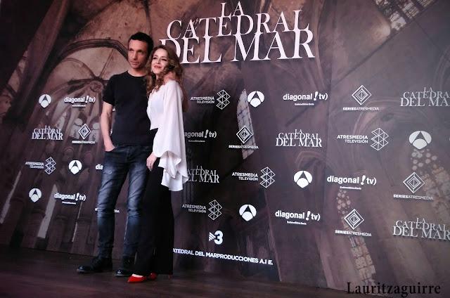 Pablo Derqui y Silvia Abascal