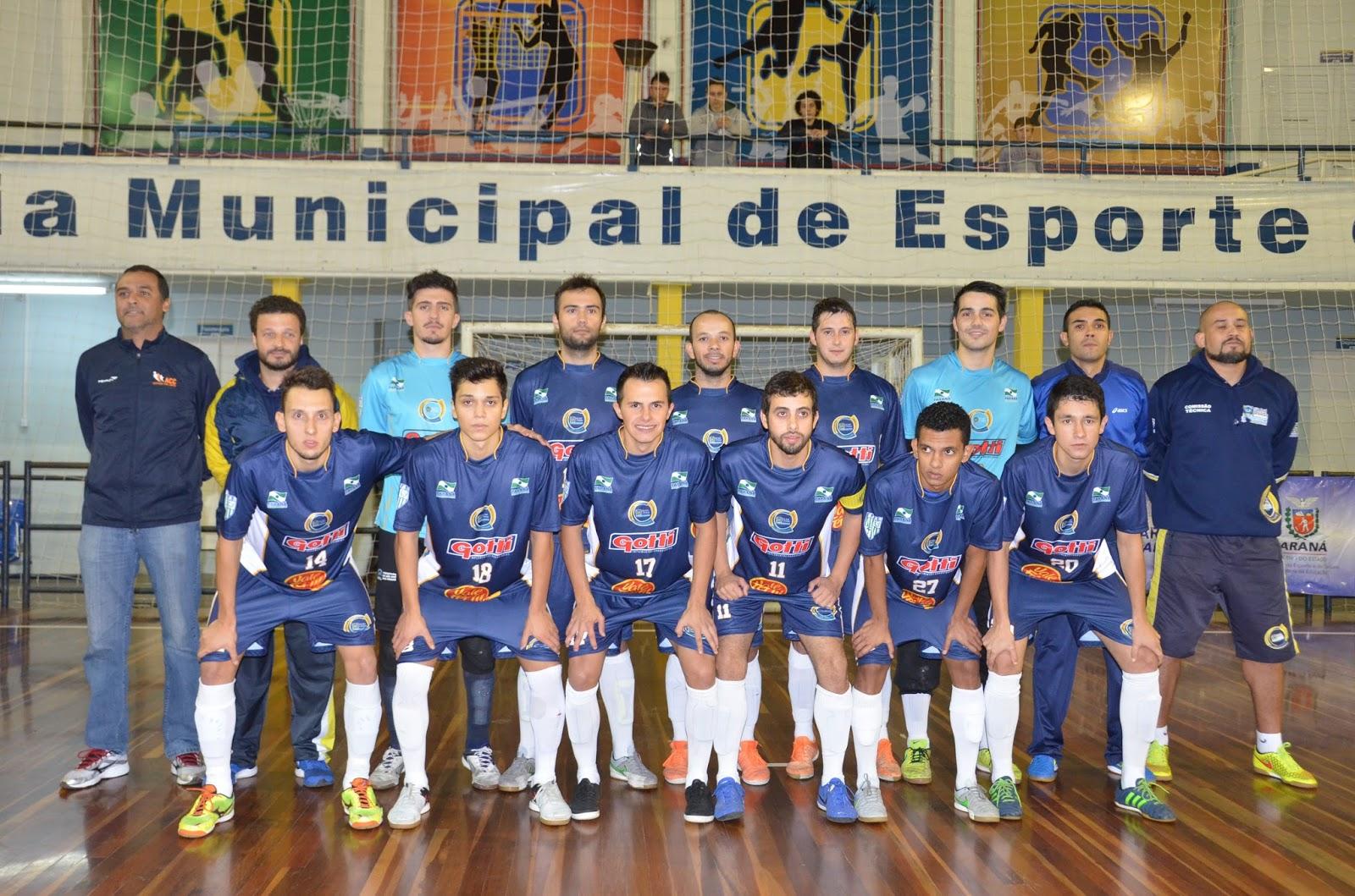 b068274c1b Equipe do Novo Futsal São José dos Pinhais espera largar com vantagem. Dono  do melhor ataque da Série Prata ...