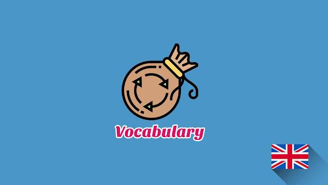 Kosakata Bahasa Inggris Pembuangan Disertai Gambar, Audio Dan Pronunciation