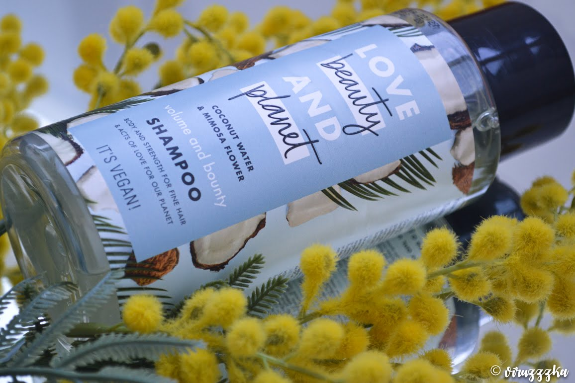 Love Beauty And Planet Volume and Bounty Shampoo Coconut Water & Mimosa Flower Review
