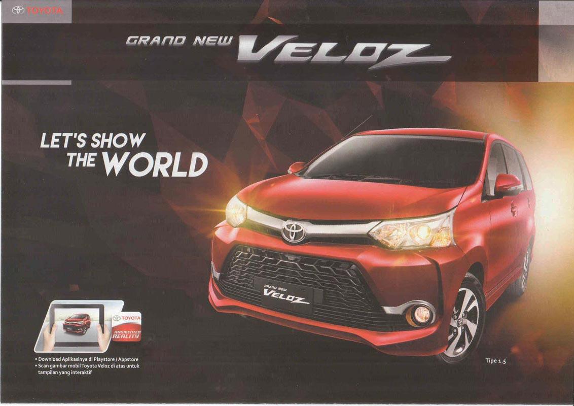 Gambar Grand New Veloz 2017 Audio Avanza 1.3 G Brosur Toyota Bogor Harga Innova