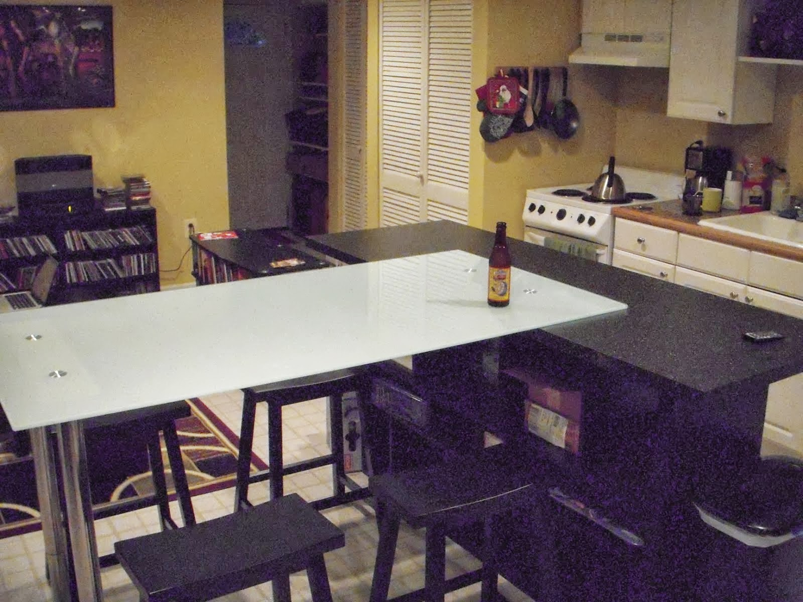 T Kitchen Island Dining Table