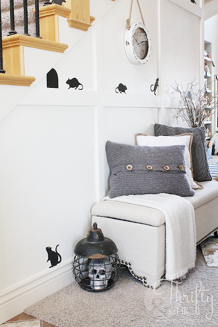 Easy DIY Halloween decor and decorating ideas for your whole house!
