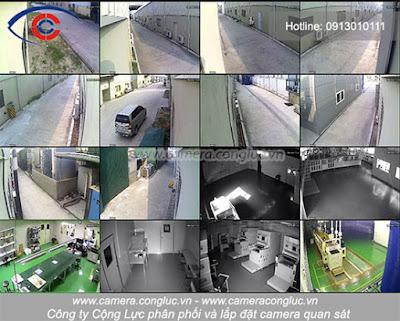 Chất lượng hình ảnh hệ thống camera tại một công ty sản xuất được công ty Cộng Lực nâng cấp và lắp đặt một hệ thống mới chuyển từ camera analog đời thấp sang camera IP.