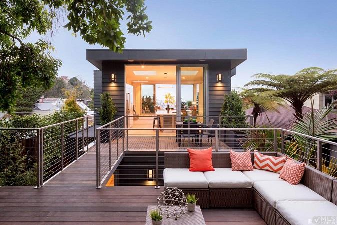 Casas Minimalistas Y Modernas Terrazas Modernas