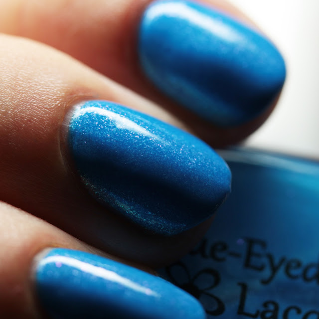 Blue-Eyed Girl Lacquer On B-Days We Wear Blue