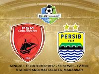 Prediksi PSM Makassar vs Persib, Minggu 15 Oktober 2017