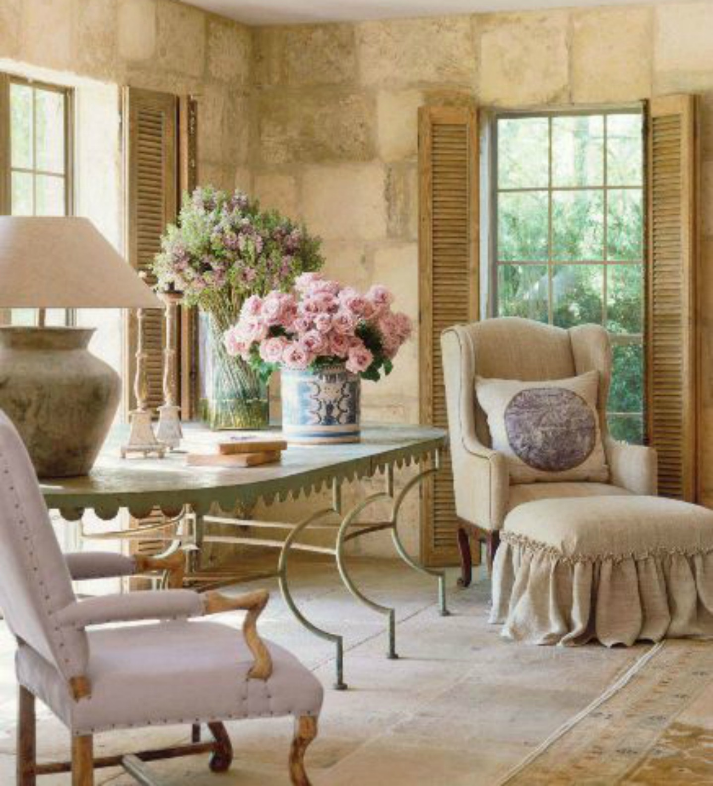 Country Farmhouse Living Room: 66 French Farmhouse Decor Inspiration Ideas {Part 1