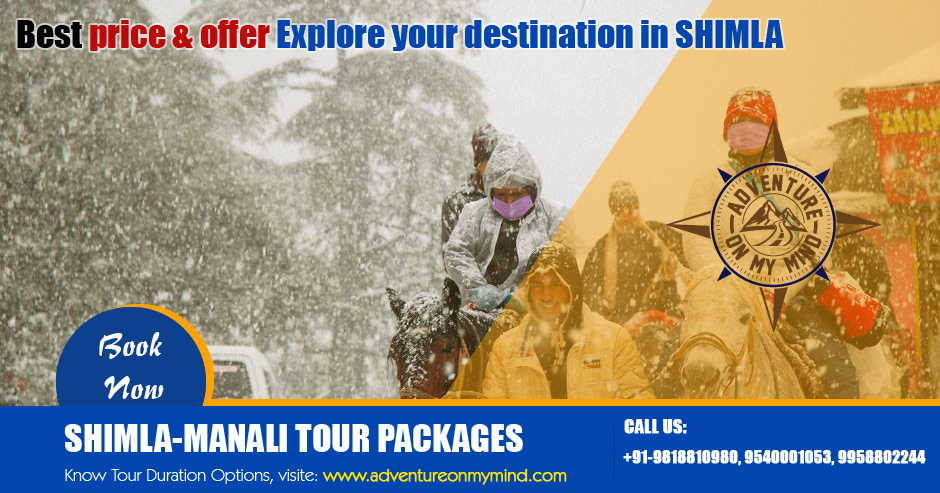 http://adventureonmymind.com/shimla-tour-packages.php