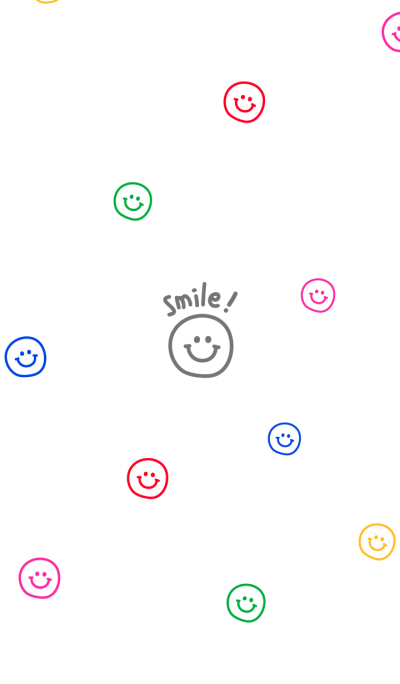 colorful smiling faces
