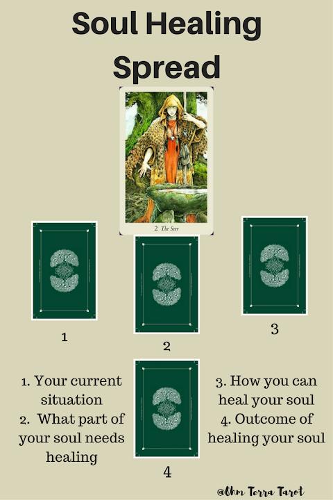 Soul Healing Tarot Spread