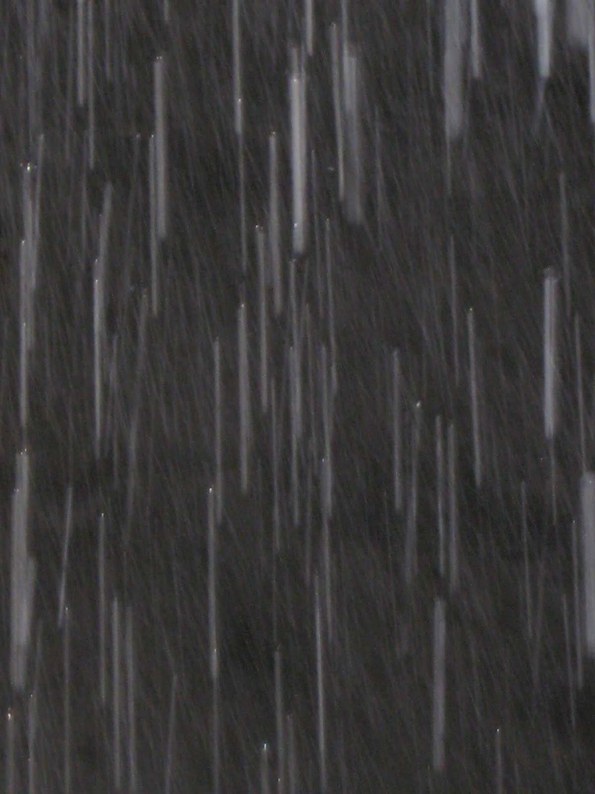HauteZone: Rain, rain is falling down... falling down all ...