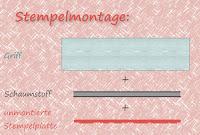 Grafik Stempelmontage