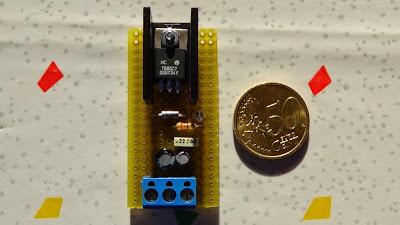 Fig.4 - Un piccolore regolatore di tensione a 5V da 1A di Paolo Luongo