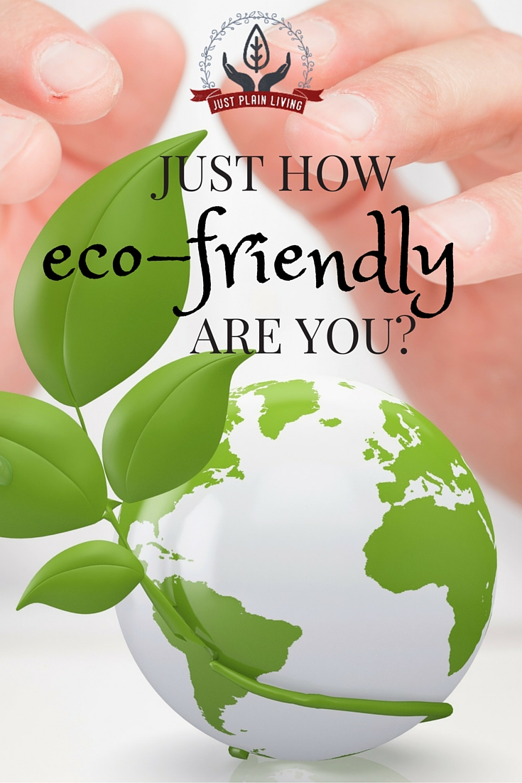 Are you as earth-friendly as you think you are? Compare yourself against this checklist and see how you stack up!