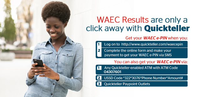 How to buy waec pin on quickteller mobile app