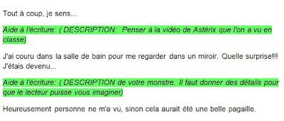 #Classedugoût et projet Expression Écrite 3