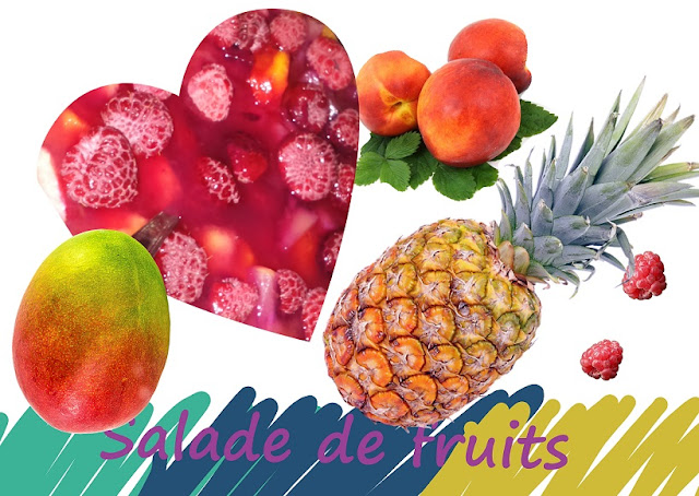 salade aux fruits, fruits salad, sans gluten, vegan
