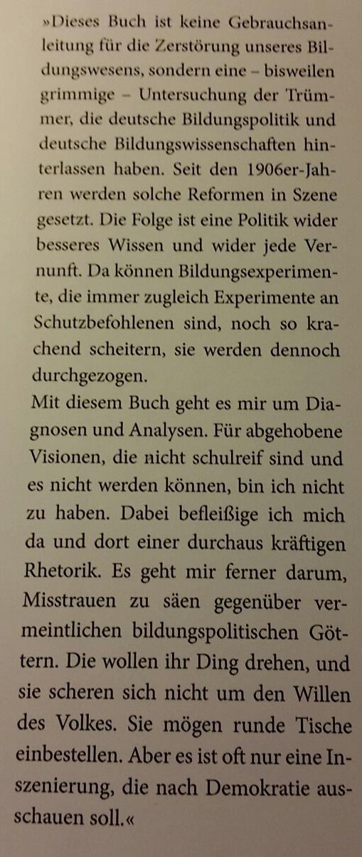 Schule Schweiz Buchtipp Josef Kraus