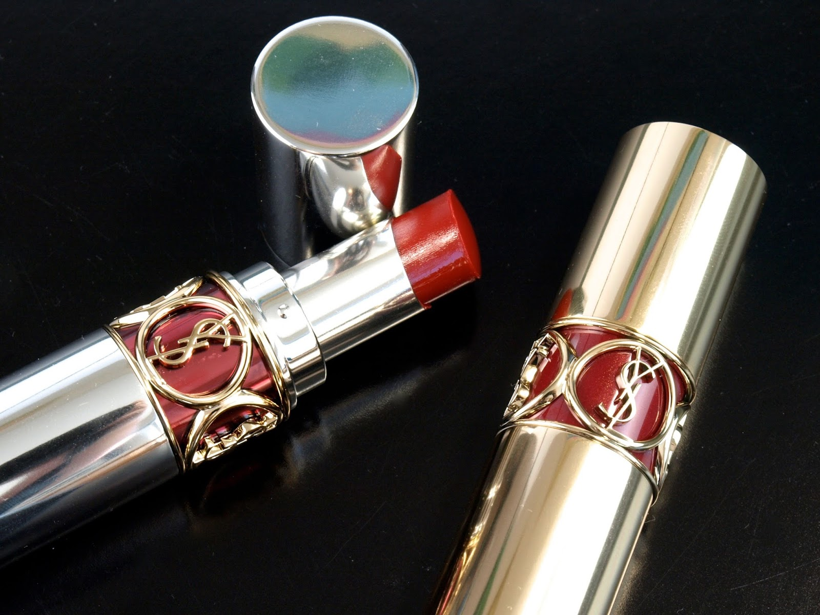 Fall Lips With Ysl Yves Saint Laurent Rouge Volupt 233 Perle