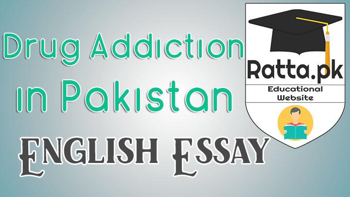 Drug addiction in Pakistan