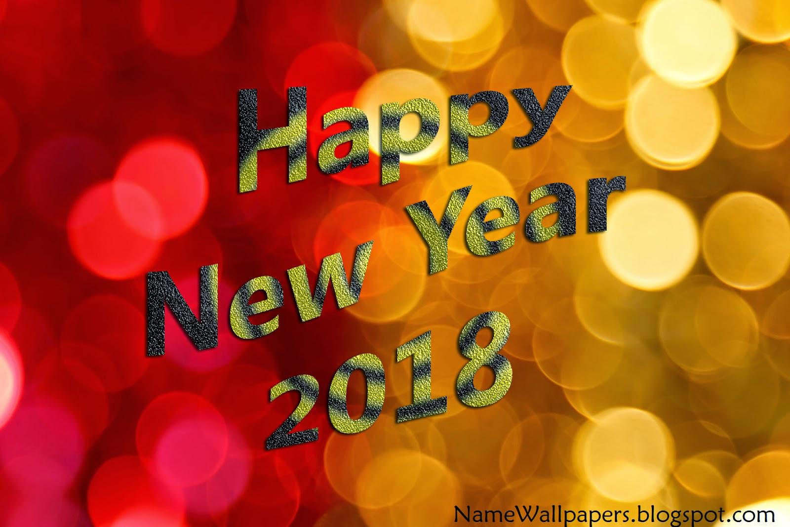 new year wallpaper hd 2018