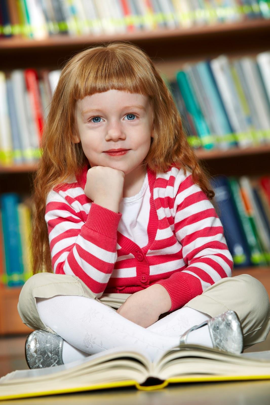 namc montessori circle of inclusion classic presentation. smiling girl in library