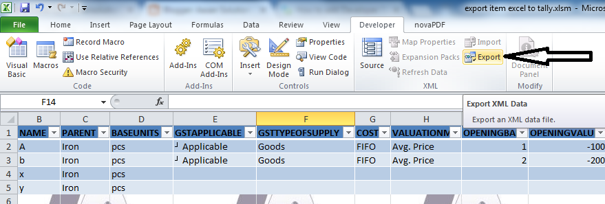 Aasan Solution: Excel to Tally Part-4 | Export Item or inventory