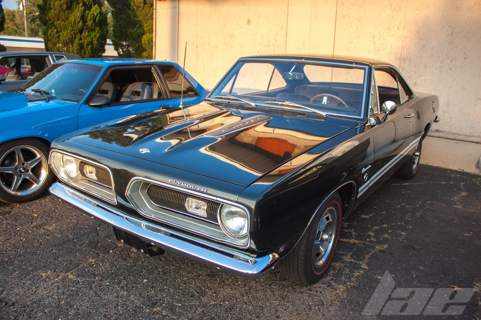 car spotlight 1968 plymouth barracuda 383 8. Black Bedroom Furniture Sets. Home Design Ideas