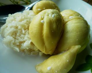 Resepi Pulut Durian Dan Santan Kelapa