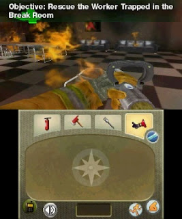 Real Heroes Firefighter 3D 3DS CIA Review