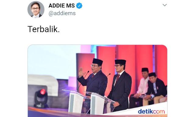 Kompak Serang Prabowo, Detikcom dan Addie MS Kena 'Semprit' Said Didu