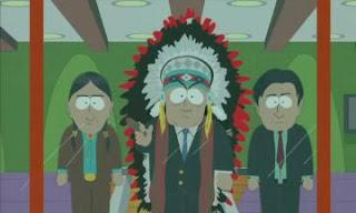 South Park Episodio 07x07 La codicia de hombre de piel roja
