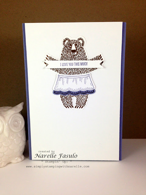 Bear Hugs - Simply Stamping with Narelle - available here http://www3.stampinup.com/ECWeb/default.aspx?dbwsdemoid=4008228