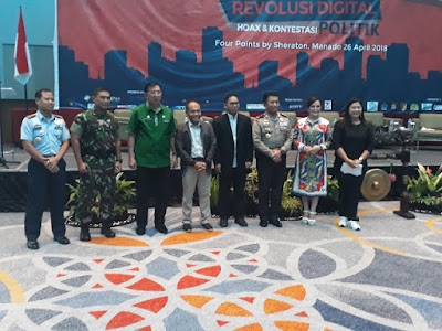 Gubernur Sulut Ajak Pers Tangkal Hoax