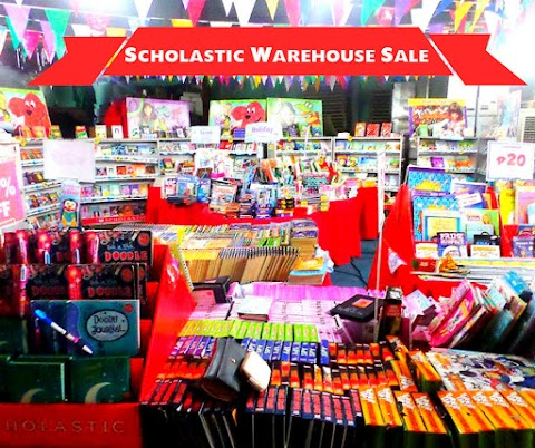 Scholastic Warehouse Sale December 2015