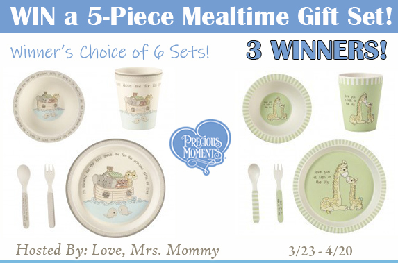 Precious Moments Mealtime Set Giveaway