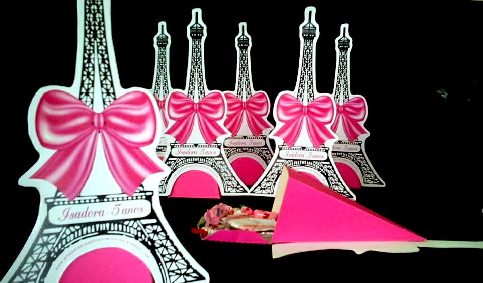 centro de mesa torre barbie moda e magia