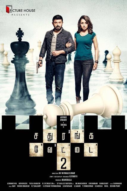 arvind swamy , Trisha photos in Sathuranga Vettai 2 Tamil Movie