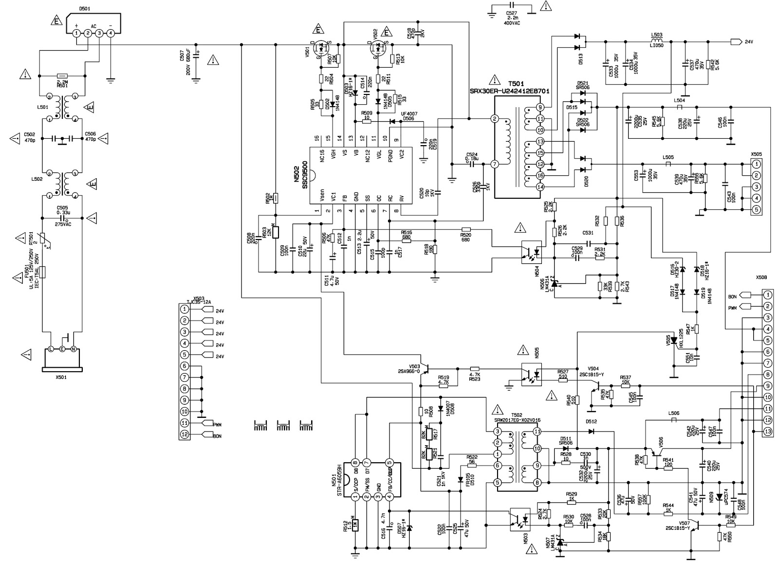 Xoceco And Dynex Dx 32l150a11 Initialization Smps