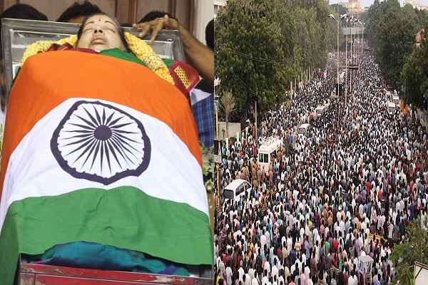 AIDMK पार्टी ने नारी किया बयान, जयललिता के बियोग में 470 लोग मर गए, सबको मिलेंगे 3 लाख रुपये