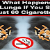 Watch: What Happens To Your Lungs If You Smoke Just 60 Cigarettes