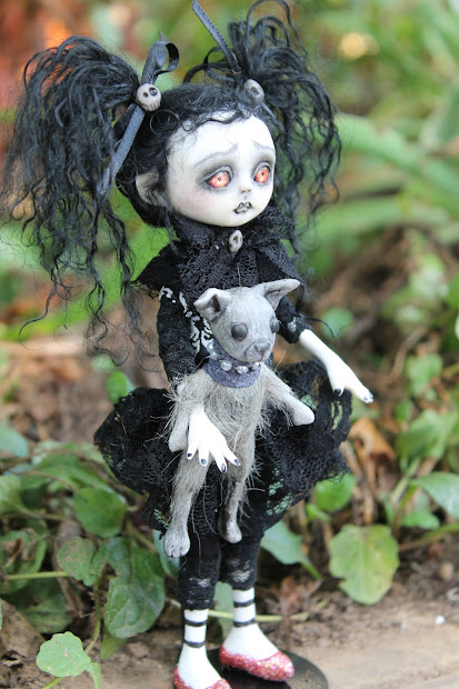 Gothic Fairy Tale Monster Doll