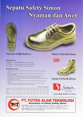 Sepatu Safety SIMON Yang Nyaman Dan Awet