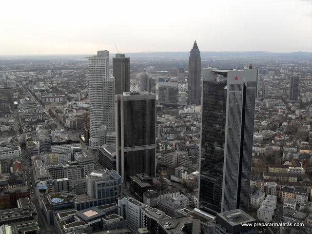 centro financiero Frankfurt