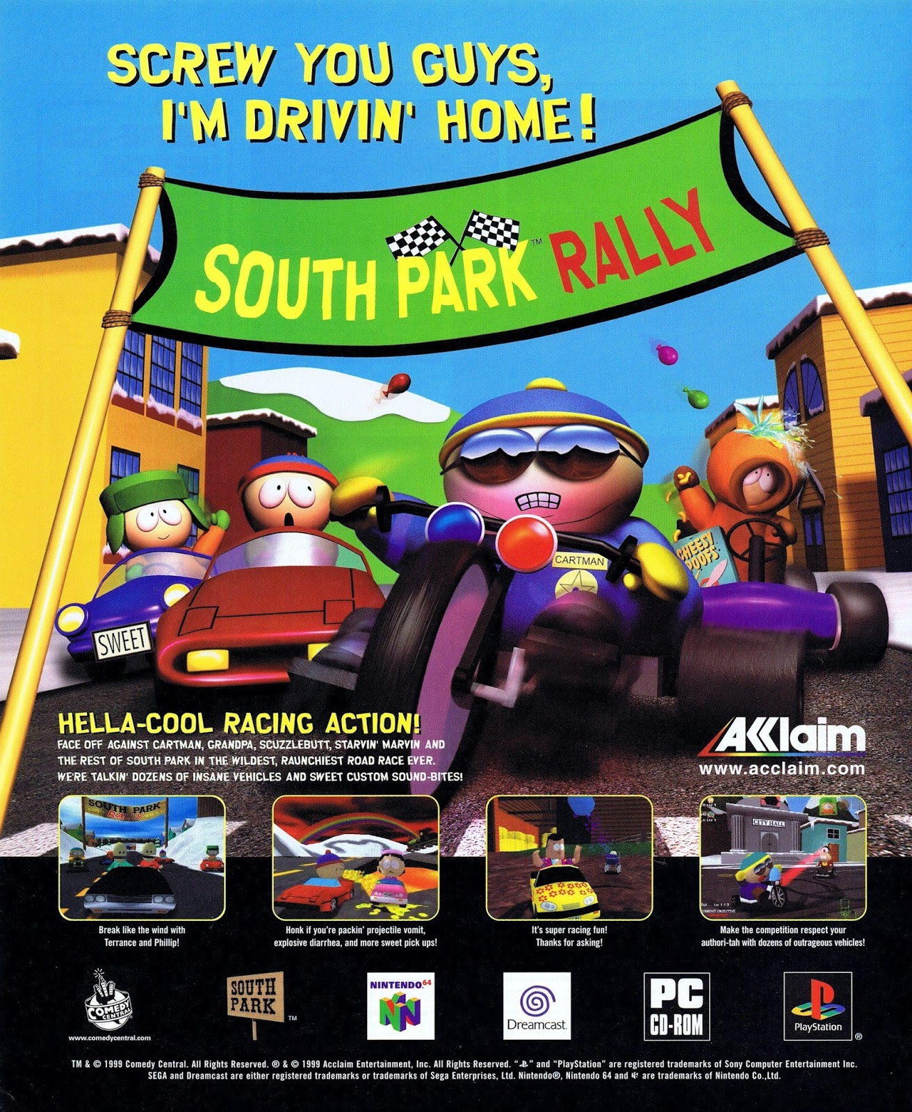 South Park Rally PC MODS: About