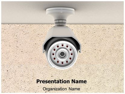 3d Animated Powerpoint Templates Security Cctv Camera 3d Animated Powerpoint Template