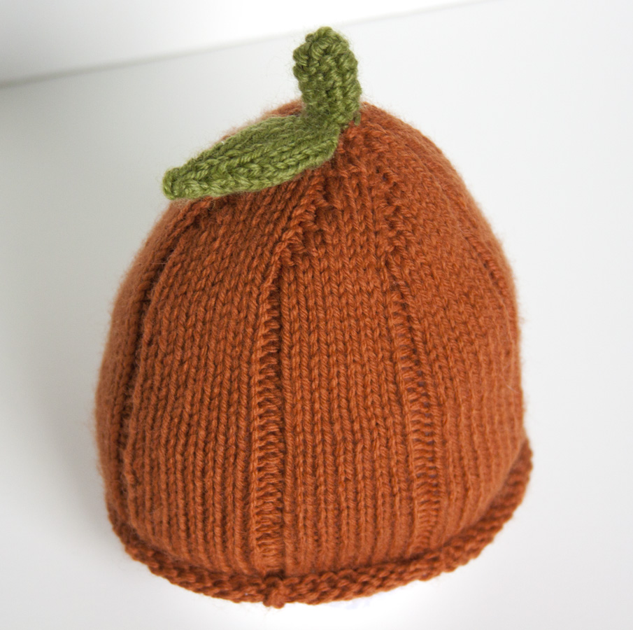 d959ee6ec0f Show and Tell Meg  Knitting Update  Punkin  Head Baby Hat