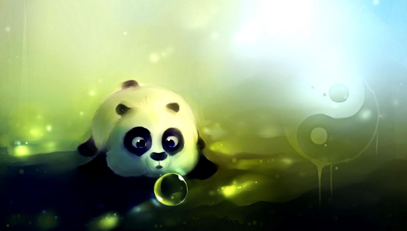 Cute anime panda wallpaper wallpapers gallery - Panda anime wallpaper ...